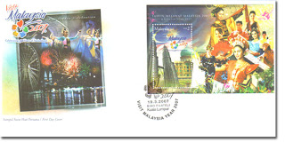 Visit Malaysia Year First Day Cover