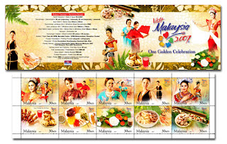Visit Malaysia Year Stamp Booklet