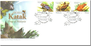 Frog First Day Cover