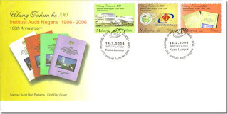 Audit Negara First Day Cover
