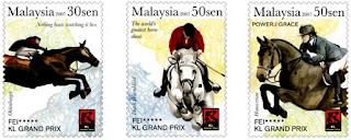KL Grand Prix Stamps