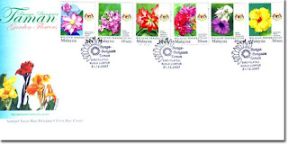 Garden Flowers First Day Cover