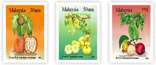 Rare Fruits Stamps