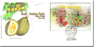 Rare Fruits First Day Cover