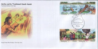 Folk Tales First Day Cover