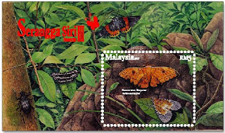 Insects Miniature Sheet