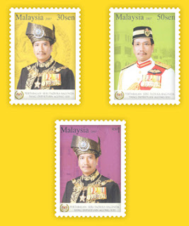 Agong XIII Stamps