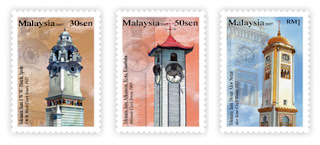 Clock Towers Stamps