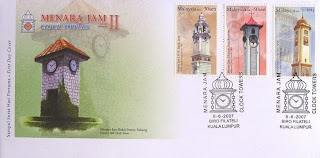 Clock Towers First Day Cover