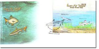 Fresh Water Fish First Day Cover