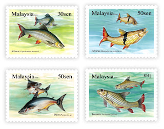 Fresh Water Fish Stamps
