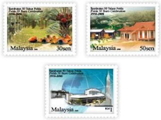 50 Years Felda Stamps