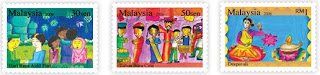 Malaysian Festivals Stamps