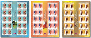 Traditional Costumes Stamps Sheet