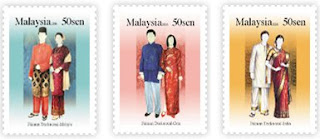 Traditional Costumes Stamps