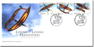 Traditional Kites First Day Cover