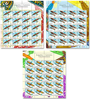 Traditional Kites Stamps Sheet