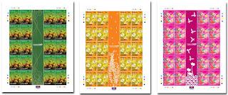 Malaysia Batik Stamp Sheet
