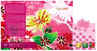 Malaysia Batik Folder
