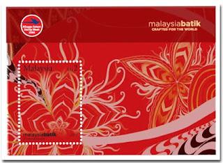 Malaysia Batik Miniature Sheet