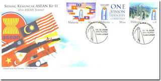 11th ASEAN Summit First Day Cover