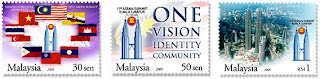 11th ASEAN Summit Stamps