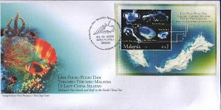 South China Seas Islands First Day Cover