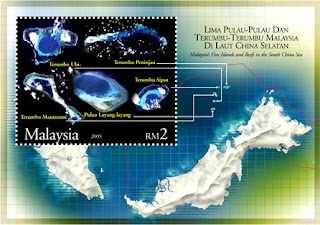 South China Seas Islands Miniature Sheet