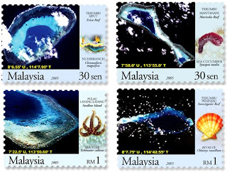 South China Seas Islands Stamps