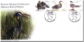 Migratory Birds First Day Cover