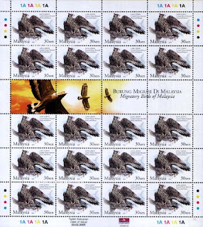 Migratory Birds 30c Stamps Sheet
