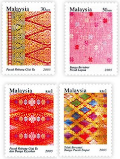 Songket Stamps