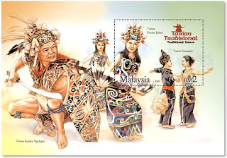 Traditional Dance Miniature Sheet
