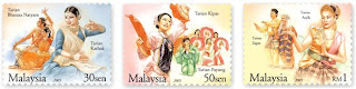Traditional Dance Stamps