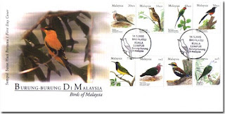 Birds Of Malaysia First Day Cover