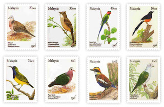 Birds Of Malaysia Stamps