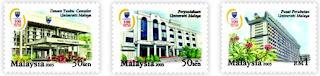 University Malaya Stamps