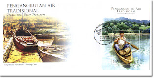 Traditional Water Transport First Day Cover