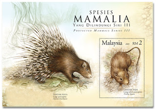 Protected Mammals Miniature Sheet