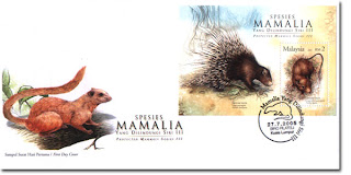 Protected Mammals First Day Cover
