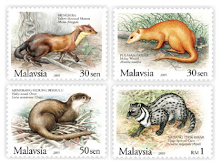 Protected Mammals Stamps