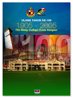 100 Years of MCKK Folder