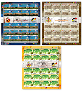 100 Years of MCKK Stamps Sheet