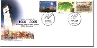 100 Years of MCKK First Day Cover