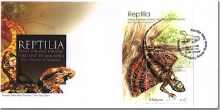 Rare Reptiles First Day Cover