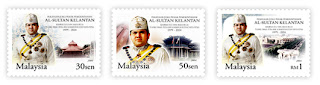 AL Sultan Kelantan Stamp