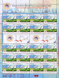 Commonwealth 30c Stamp Sheet