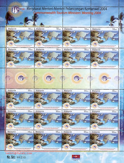 Commonwealth 50c Stamp Sheet