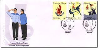 National Service First Day Cover