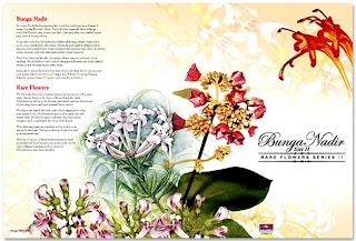 Rare Flowers Folder